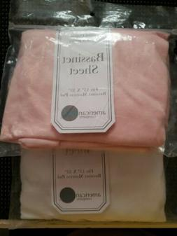 ♡ 2 pscAmerican Baby Company 100% Cotton Knitted Jersey Ba