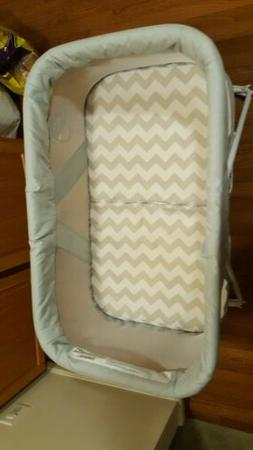 MiClassic 2in1 Rocking Bassinet One-second Fold Travel Crib