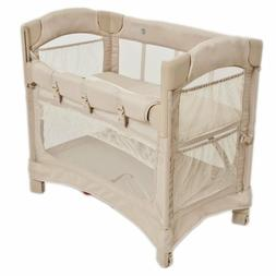 Arms Reach Concepts Inc. Mini Ezee 2 IN 1 Co-Sleeper, Toffee