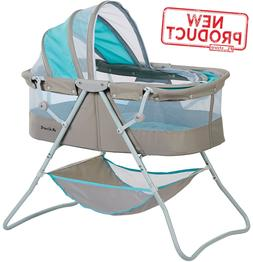 Baby Bassinet W/ Storage Infant Nursery Crib Basket Sleeper