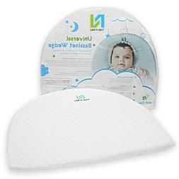 Baby Bassinet Wedge for Reflux Relief|12-Degree Incline Slee