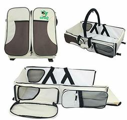 Baby Diaper Bag Portable Bassinet Travel Changing Station In