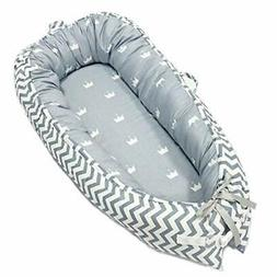Baby Lounger, Portable Super Soft and Breathable Newborn Inf