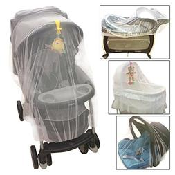 Crocnfrog Mosquito Net for Baby Stroller, Crib, Pack and Pla