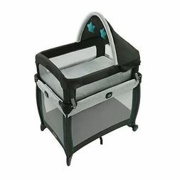Graco Baby My View 4-in-1 Bassinet - Blue