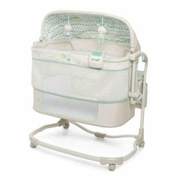 Baby Portable Bedside Bassinet Cradle Crib Infant Adjustable