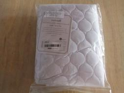 "Bassinet Waterproof Quilted Mattress Pad Cover 15""x33"" - Fit"