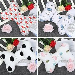 Bowknot Soft Pillow Newborn Infant Baby Support Cushion Pad