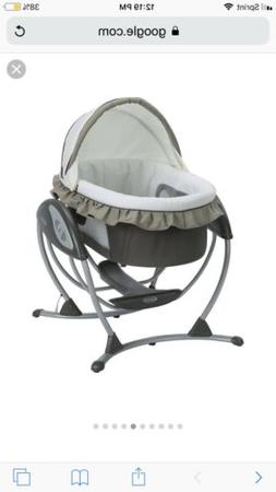 Brand New In Box: Graco 3 In 1 Soothing System/ Bassinet/ Gl