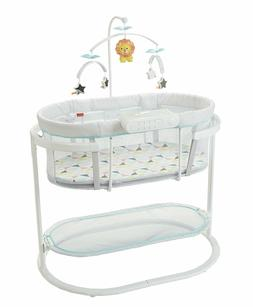 NEW Fisher-Price DPV72 Soothing Motions Bassinet, Windmill -