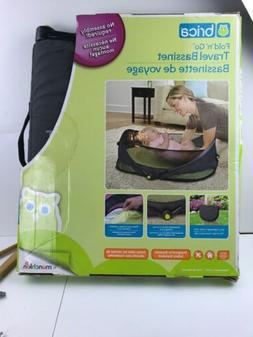 BRICA Fold N' Go Travel Bassinet With Fitted Sheet