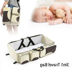 3 in 1 diaper tote bag travel