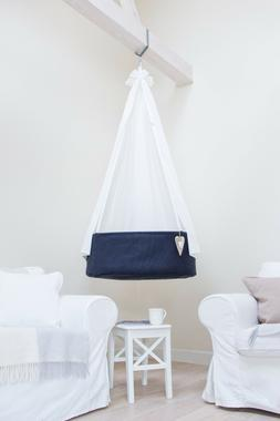Gorgeous HANGING BABY bassinet | cradle | basket|cot. For ni