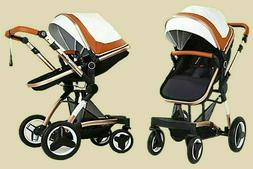 Cynebaby High Landscape Baby Stroller Two-Way Implementation