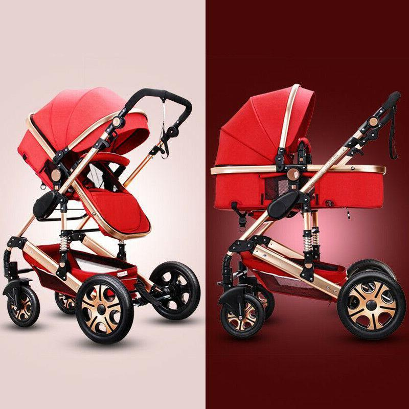 2019 Baby Stroller 3 in travel Bassinet Combo buggy Seat