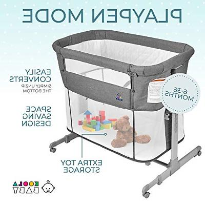 Bassinet Bedside Baby Playpen Easy Portable