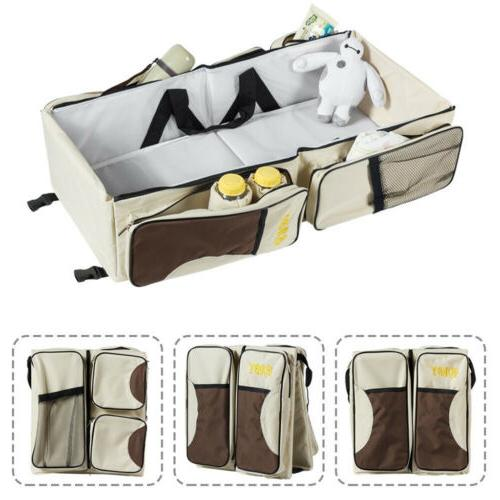3-in-1 Tote Baby Bed Nappy