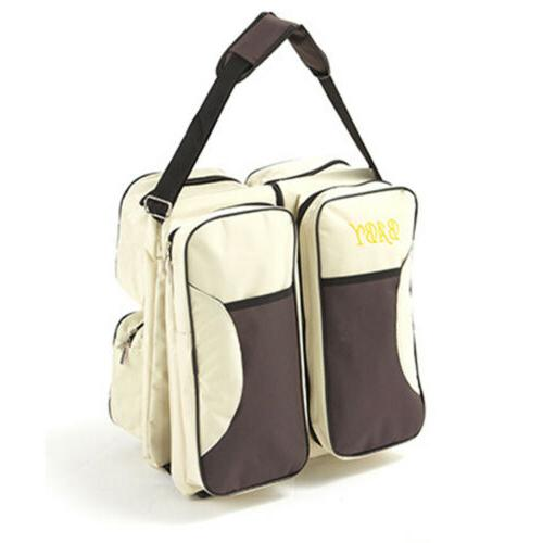 3-in-1 Tote Baby Travel Nappy Changing Carrycot