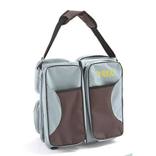 Portable 3in 1 Tote Bag Changing Carrycot