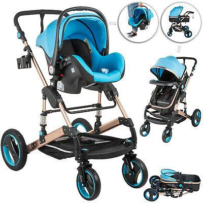 3 in 1 foldable baby stroller high