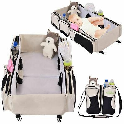3 in 1 portable infant baby bassinet