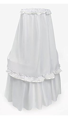 Badger Baby Canopy White