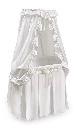 Badger Baskets Majesty Baby Bassinet with White