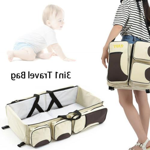baby 3in1 portable bassinet cot mummy travel