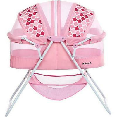 Baby Bassinet Canopy Pink