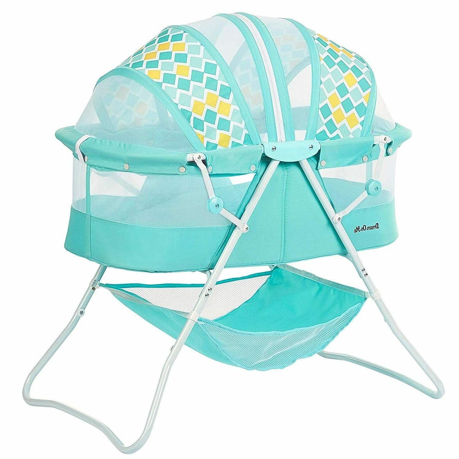 baby bassinet w storage infant nursery crib