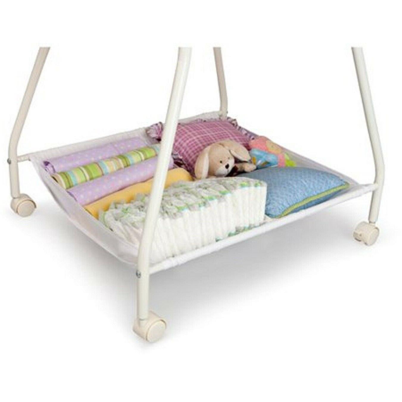 Baby Portable White Moses Infant Nursery