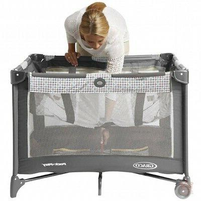 Baby Play Playpen Gate Portable Safety Padded Enclosure