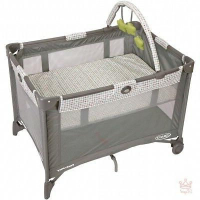 baby play yard playpen gate portable safety