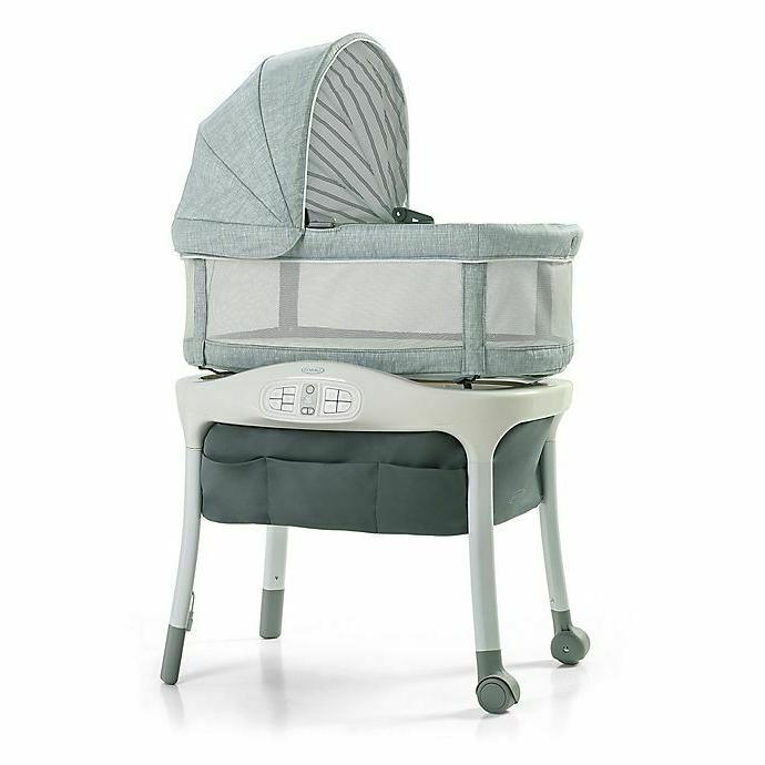 baby sense2snooze bassinet with cry detection technology
