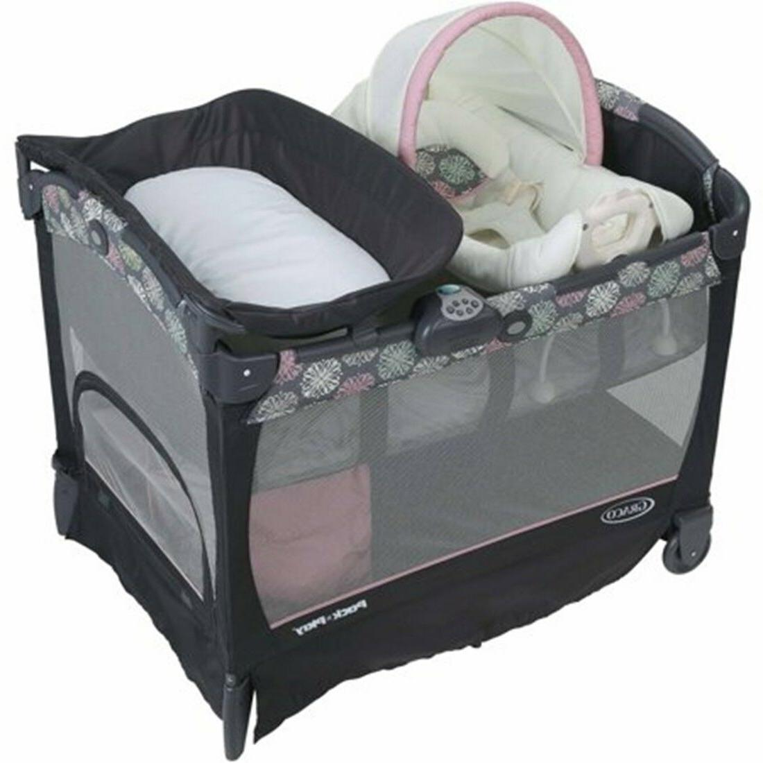 Baby Stroller System with Seat Fast Fold Crib