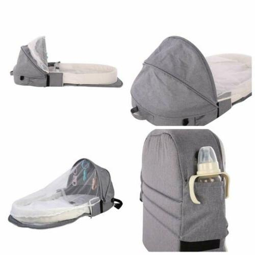 Baby Travel Portable W/Toy Mosquito Net