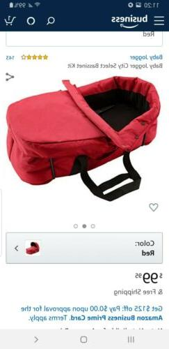 Bassinet Jogger Select red color opened NEW