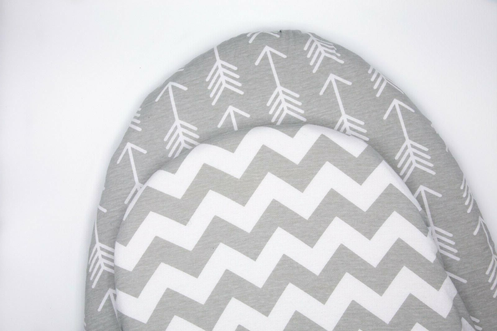 Bassinet Sheets for Oval Rectangle & Changing Pad