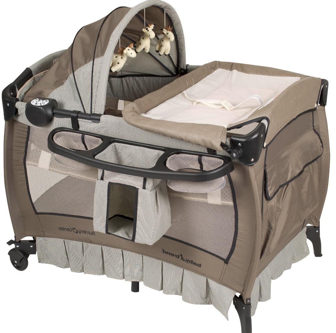 Crib n with Portable Playpen Br