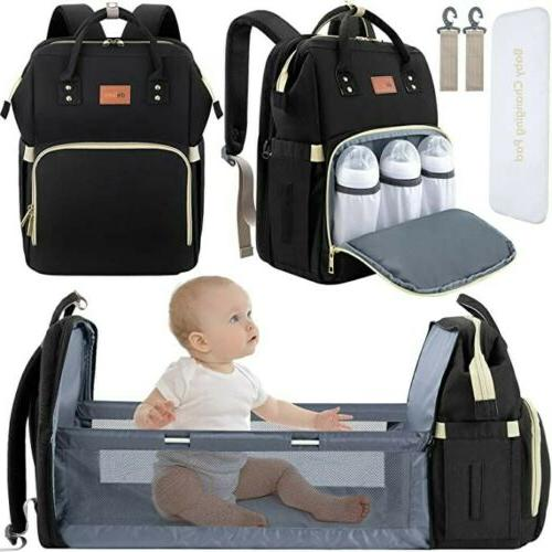 diaper bag backpack and bassinet for baby