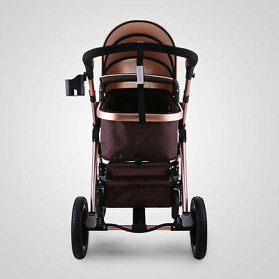 3 in 1 Luxury Foldable Baby View Car