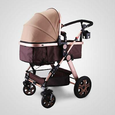 3 Foldable Stroller View Car