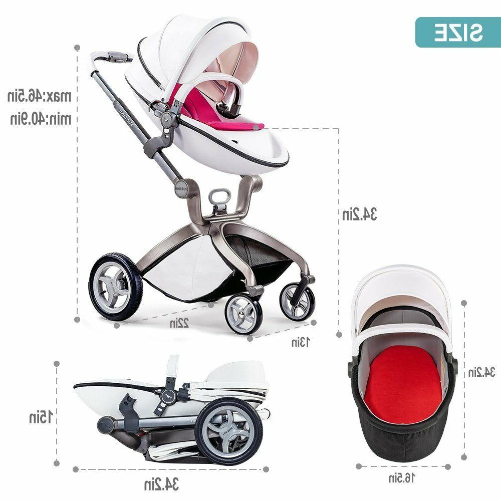 hot 3 in 1 travel system Bassinet seat new