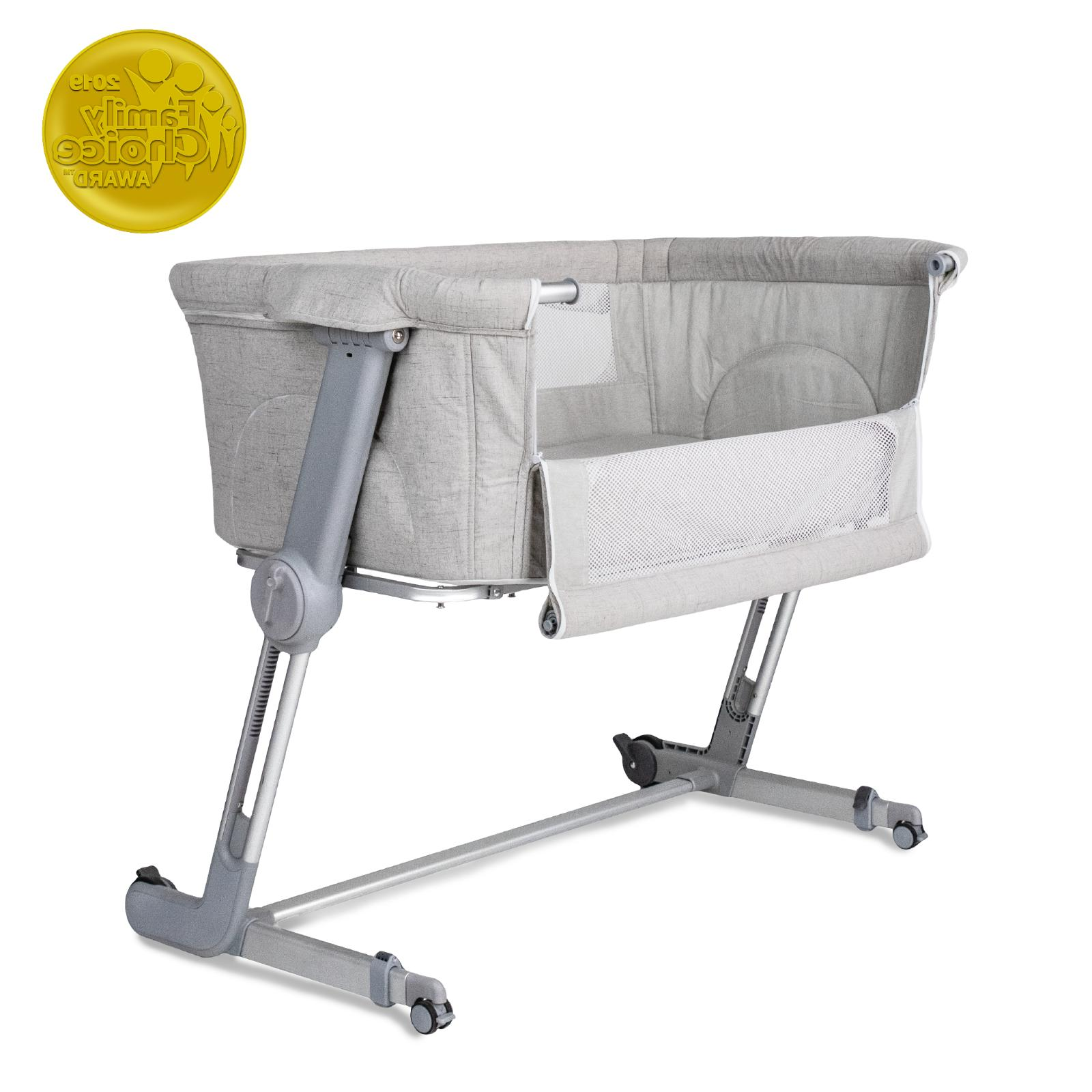 hugme plus bedside and portable bassinet includes