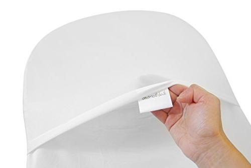 iLuvBamboo Bassinet Cover To Swivel Mattress Pad - Sheets - Secure Envelope Design