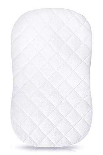 iLuvBamboo Waterproof Bassinet Cover To Fit Swivel Mattress - Sheets - Secure