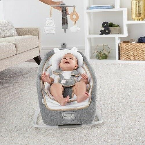 Infant Toddler Swing Bouncer Portable Seat Chair
