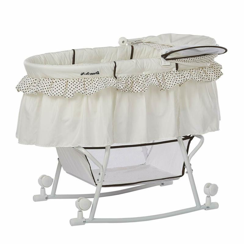 Dream on Portable 2-in-1 Bassinet