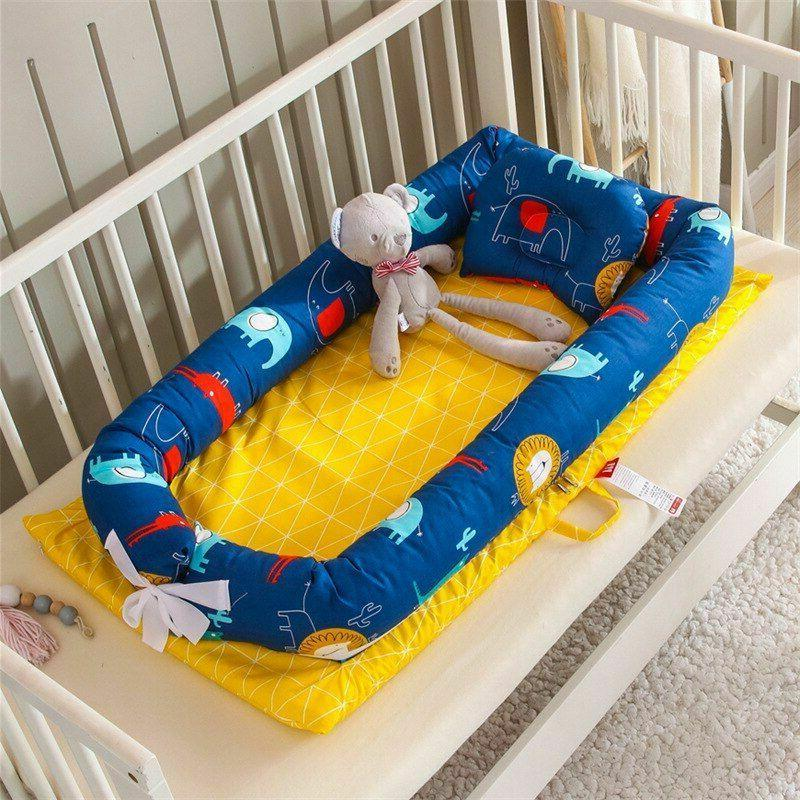 New Portable Baby Bed Cotton Bumper