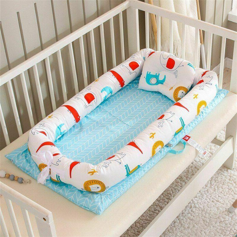 New Baby Bed Cotton Bumper Folding